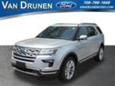 2018 Ford Explorer Silver, new