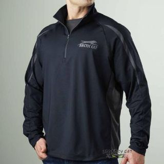 Buy Arctic Cat Men's Performance 1/4 Zip Sweatshirt Hoodie - Black ATV UTV 5258-57_ motorcycle in Sauk Centre, Minnesota, United States, for US $65.99