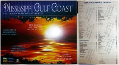 Coupon Savings Books (MS Gulf Coast, AL Gulf South, & New Orleans LA)_$20.00 or