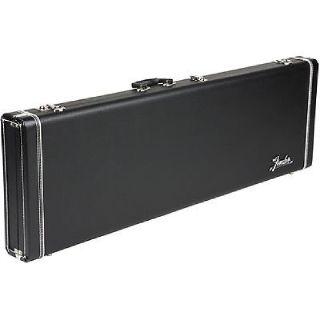 Fender Stratocaster/Telecaster Case - Black Tolex W/ Big Amp Logo & Blue Poodle Interior - NEW !!!