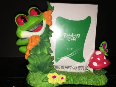 Rainforest Cafe 4x6 picture frame *NEW*