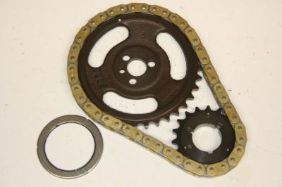 Purchase Small Block Chevy Single Roller Timing Chain & Gears Set SBC Torrington Bearing motorcycle in Melbourne, Florida, United States, for US $59.99