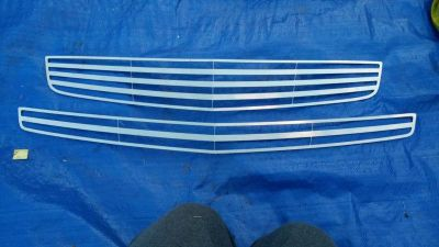 Purchase 2008 - 2012 Chevy MALIBU UPPER & BUMPER 2PC CHROME BILLET GRILLE KIT 08 09 10 11 motorcycle in Oregon City, Oregon, US, for US $100.00