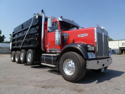 Competitive dump truck financing - All credit types are considered