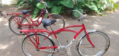 His and hers schwinn bikes