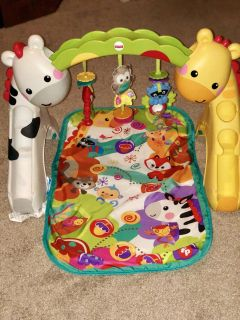 Fisher Price Grow with Me Newborn to Toddler Baby Play Mat - Gym Mat