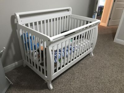 Emily 4 in 1 Combo Crib and Changing Table