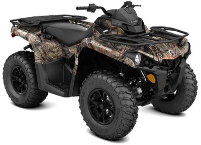 2018 Can-Am Outlander DPS 570 Utility ATVs Leesville, LA