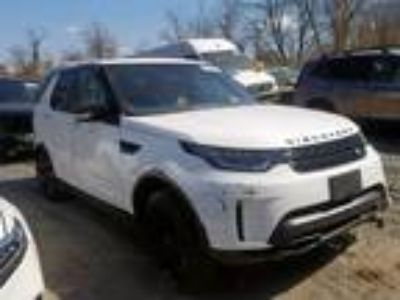 Salvage 2017 LAND ROVER DISCOVERY for Sale