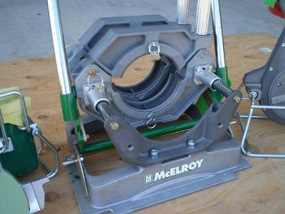 McElroys PitBull 26 No.26 Pipe Fusion Machine Welder  $2200