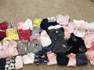 40+ baby girl clothes-3months