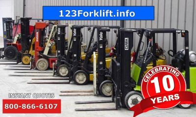 Used Rough Terrain Forklift Short Hills, NJ