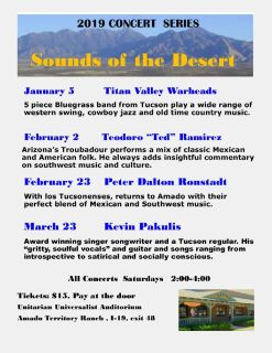 Sounds of the Desert Concert Series 2019