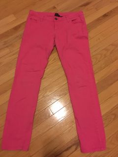 Size 9 pink skinny jeans