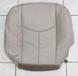 Buy 03-06 Chevy Tahoe Suburban Z71 LT LS Leather Driver Side Bottom Seat Cover TAN motorcycle in Houston, Texas, US, for US $189.00