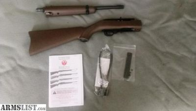 For Sale: Brand new unfired Ruger 10/22 Takedown with threaded barrel