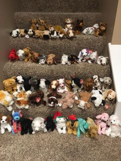 New beanie baby dogs pick one for $3