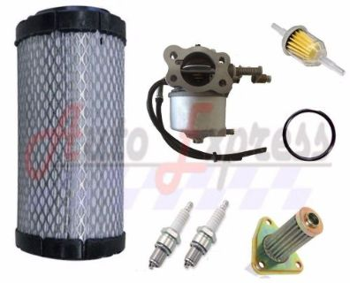 Buy EZGO TXT ST350 Gas Golf Cart Tune Up Kit 96-up Carburetor Filters Spark Plug motorcycle in Lapeer, Michigan, United States, for US $115.95