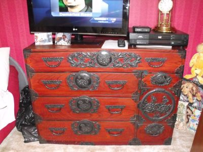 Antique Chinese Chest-Sensai Tunsa