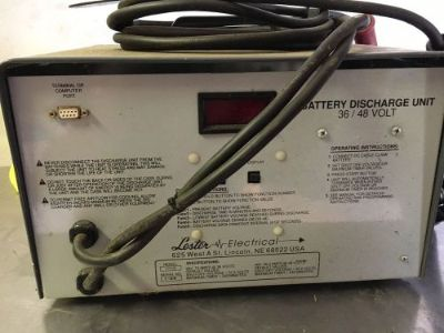 Purchase Lester 36/48 Volt Golf Cart Discharger motorcycle in Pottstown, Pennsylvania, United States, for US $430.00