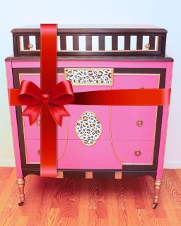 Funky Antique Chest of Drawers