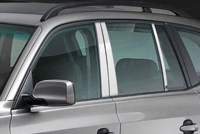 Sell SES Trims TI-P-143 04-06 BMW X3 Door Pillar Posts Window Covers Trim 6 Pcs 3M motorcycle in Bowie, Maryland, US, for US $70.20