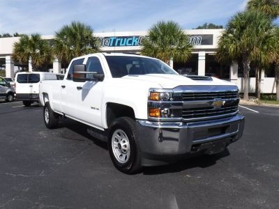2018 Chevrolet Silverado 3500 Long BED 4x4 Diesel (White)