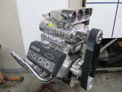 LS Hemi Engine Supercharged