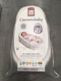 Red Castle Cocoon a Baby Bassinet with Sheet