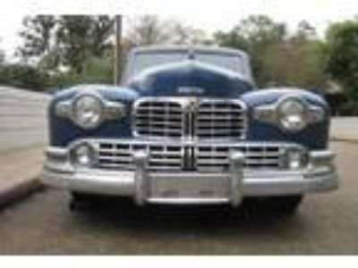 1948 Lincoln Continental Two door coupe V-12 Blue