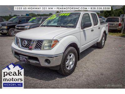2006 Nissan Frontier SE (White)