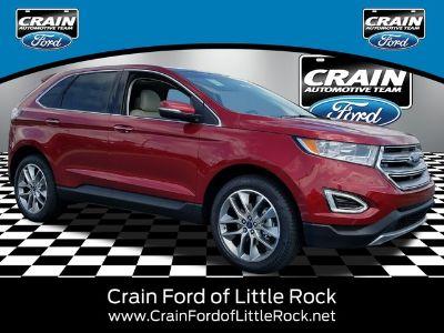 2018 Ford Edge TITANIUM FWD (Ruby Red)