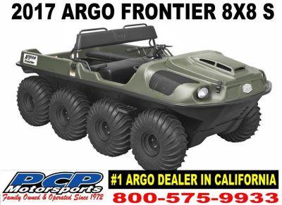 2017 Argo Frontier 8x8 S Utility ATVs Sacramento, CA