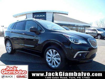 2018 Buick Envision Premium II (Ebony Twilight Metallic)