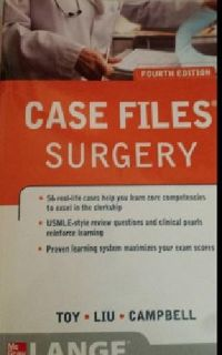 $15 OBO Case Files Surgery 4th edition