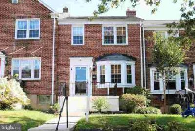 141 Stanmore Rd Baltimore Three BR, nicely updated townhome in
