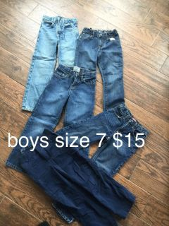 jeans - size 7