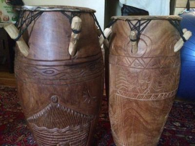 Drums from Ghana