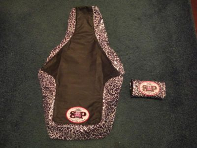 "Purchase 86-89 HONDA TRX250R SPR RACING GRIPPER SEAT COVER AND FAT BAR PAD TRX250R ""NICE"" motorcycle in Glen Burnie, Maryland, US, for US $32.95"
