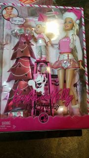 Barbie and Kelly pink holiday