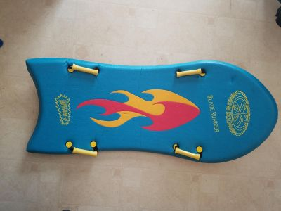 Snow boogie board sled 2 person