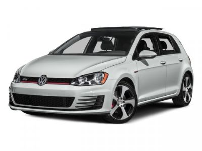 2016 Volkswagen Golf Gti (Red)