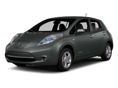 2015 Nissan LEAF SL (Brilliant Silver)
