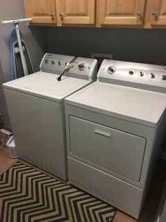 Kenmore 800 series washer & dryer