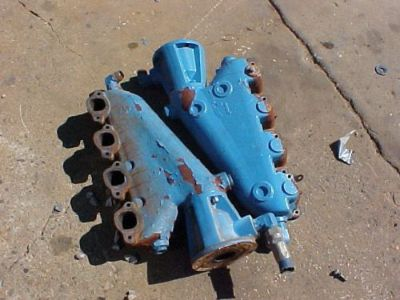 Sell Big Block Chevrolet Manifolds 454ci Marine Parts *FRESH WATER* motorcycle in Coldwater, Michigan, United States, for US $325.00
