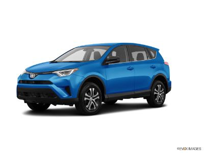 2018 Toyota RAV4 LE (Electric Storm Blue)