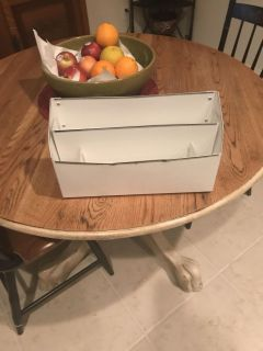 Free desk organizer box ... no holes/ no rips! Must pick up today!