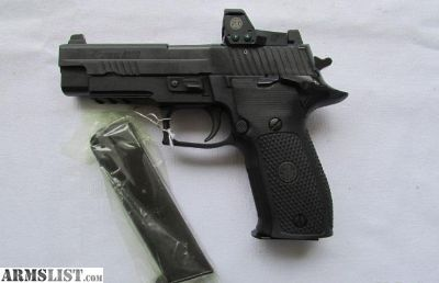 For Sale: Good Sig Sauer P226R RX Elite 9mm Romeo