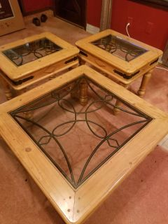Set of End Tables/Coffee or Corner Table