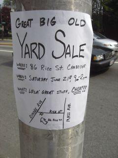 Big Yard Sale, 3 Dixie lane, Centereach NY June 2-3, 9am-3pm